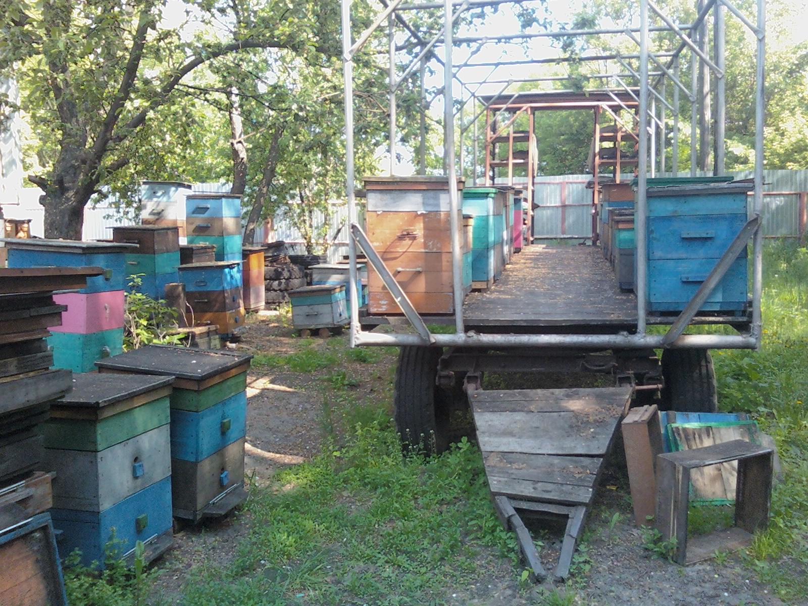 Самостоятельное изготовление прицепа для пчел - Пчелиный Дом 4